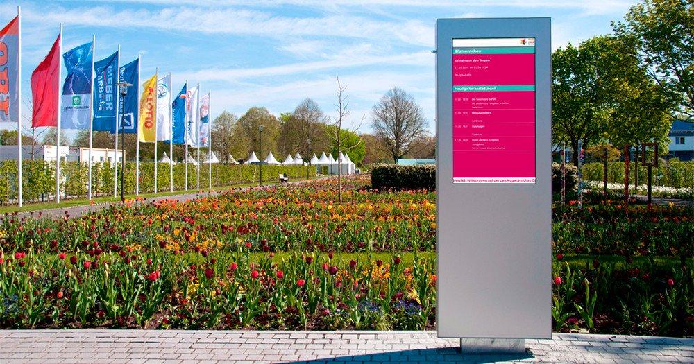 Gartenshow onScreen